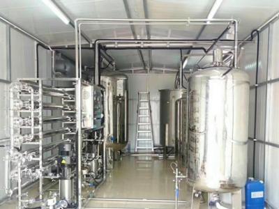 定制集装箱纯化水设备