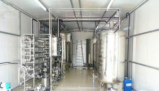 集装箱纯化水设备