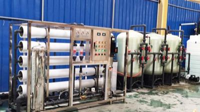起航双级纯水设备的特点介绍