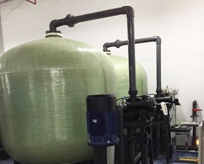 瓦卢瑞克(广州)核材料锅炉软化水处理设备案例