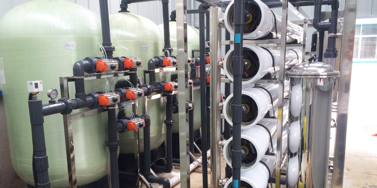 东莞食品公司EDI超纯水设备案例