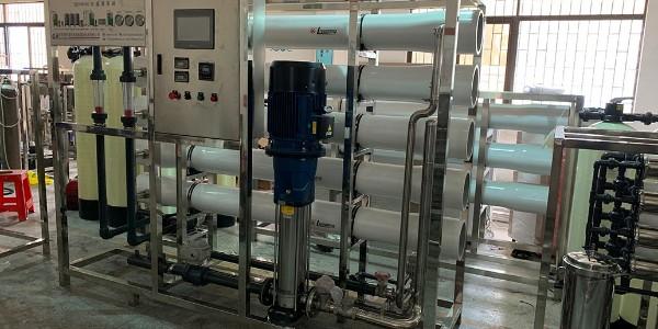 清远某表面处理电镀厂纯水设备案例