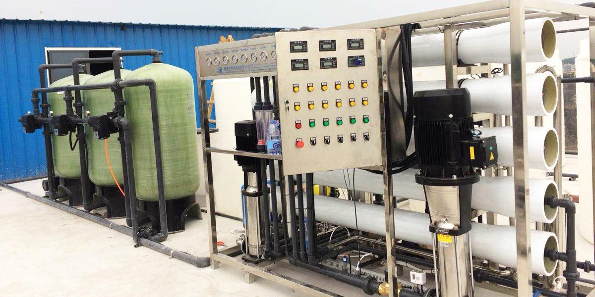 广州电池新技术股份有限公司反渗透设备案例