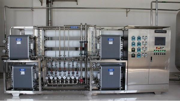 食品厂纯水设备的正确操作方式